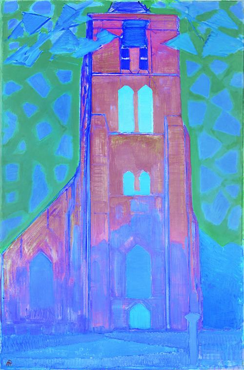 0332897 Piet Mondriaan Zeeuwsche Kerktoren